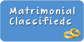 Matrimonial Classified Ad