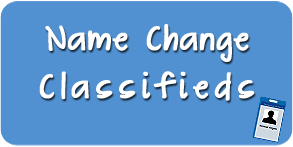 Book Name Change Classified Ads Online