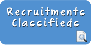 Recruitments Classified Ad